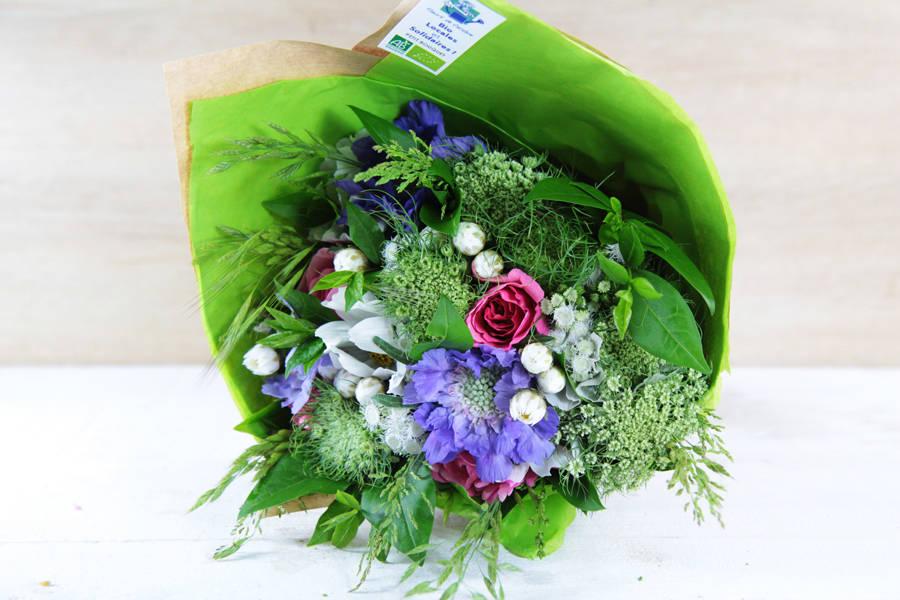 Petit bouquet du jour BIO - Fleurs de Cocagne - La Ruche qui dit Oui ! à la maison