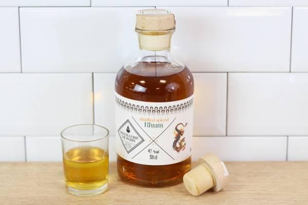Distilled Spiced Rhum - Distillerie de Paris