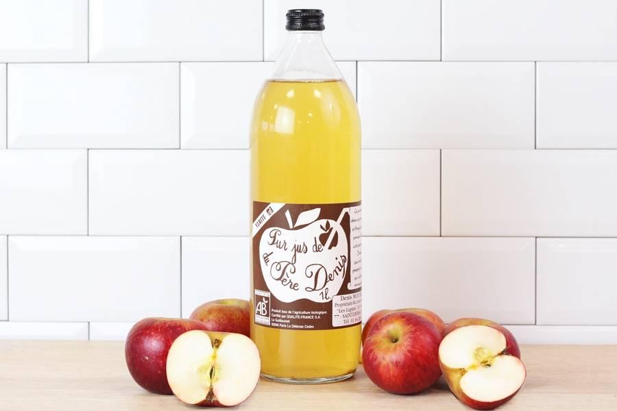Jus de pomme Vérité BIO - Le Père Denis - La Ruche qui dit Oui ! à la maison