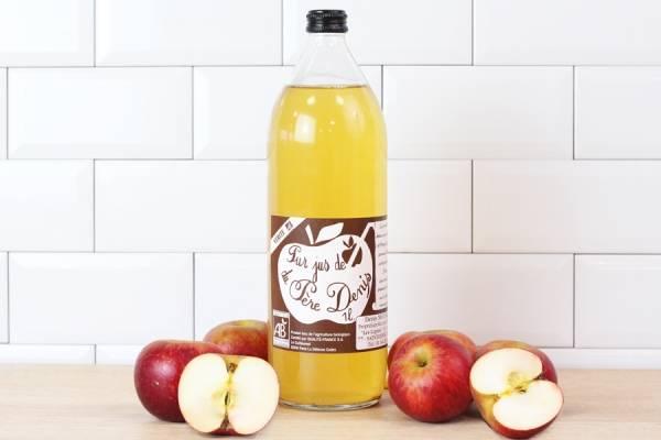 Jus de pomme Vérité BIO - Le Père Denis