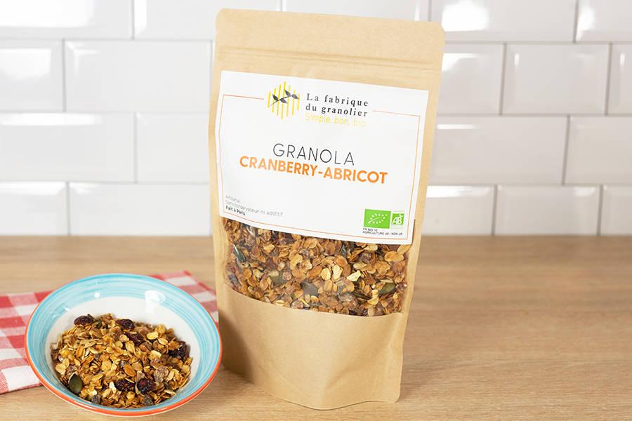 Granola Cranberry Abricot BIO - La Fabrique du Granolier - La Ruche qui dit Oui ! à la maison