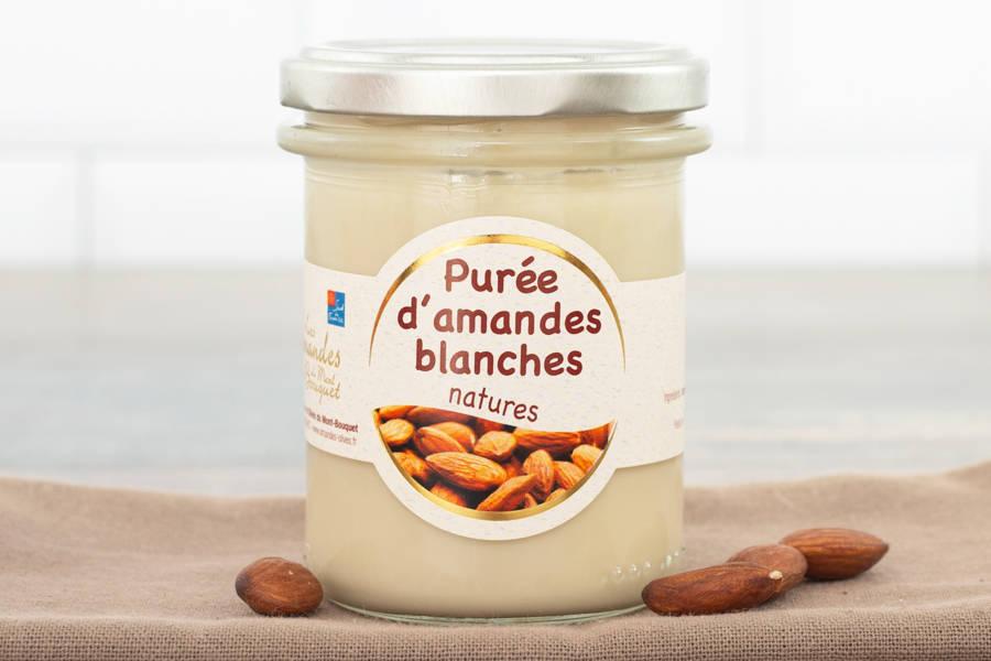 Purée d'amande blanche - Les amandes du Mont Bouquet - La Ruche qui dit Oui ! à la maison