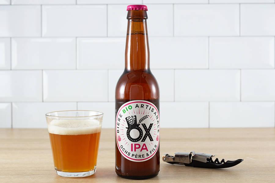 Ox IPA BIO 33 cl - Brasserie Ox - La Ruche qui dit Oui ! à la maison