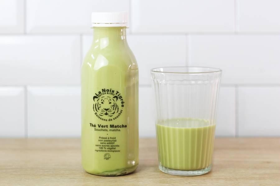 Boisson végétale thé vert Matcha BIO - La Noix Tigrée - La Ruche qui dit Oui ! à la maison