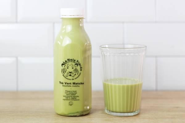 Boisson végétale thé vert Matcha BIO - La Noix Tigrée