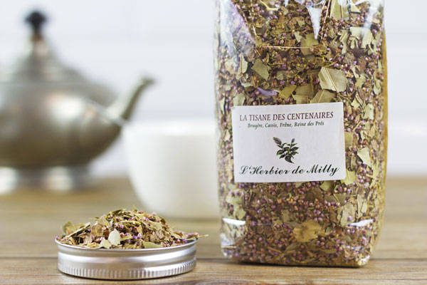 Tisane des centenaires - L'Herbier de Milly - Le Comptoir Local