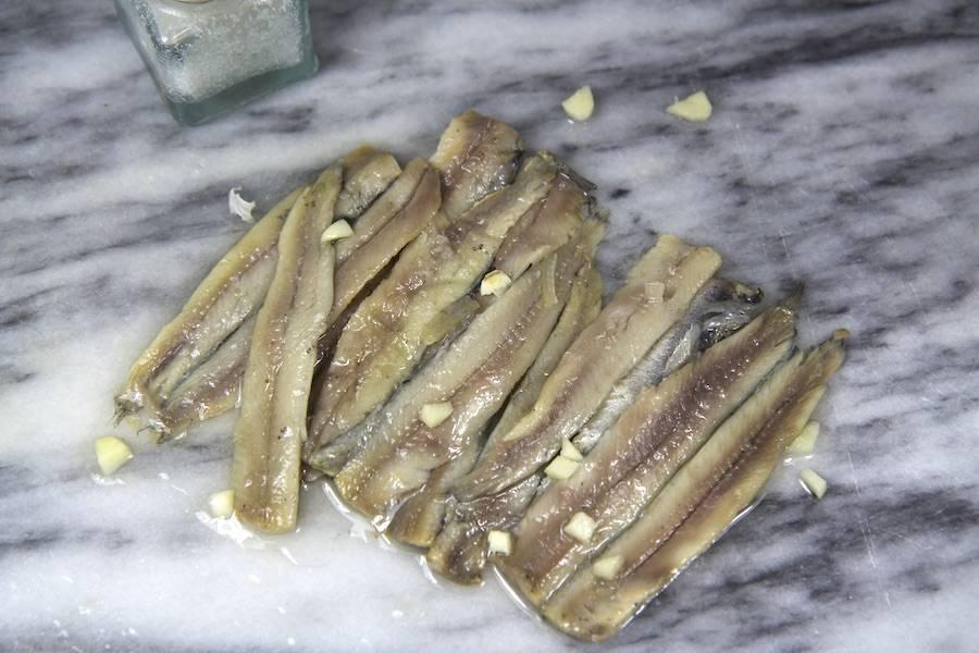 Filet d'Anchois (marinés à l'ail) - Ô'poisson - La Ruche qui dit Oui ! à la maison