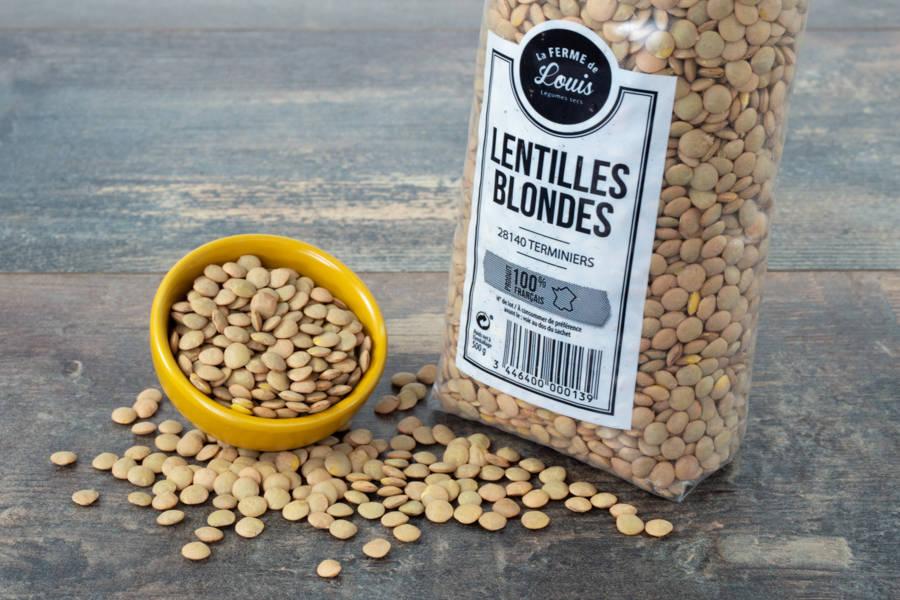 Lentilles Blondes - Ferme de Louis - La Ruche qui dit Oui ! à la maison