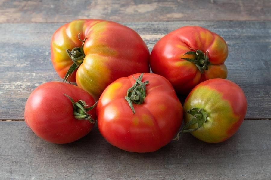 Tomates roses de Berne BIO - Les jardins d'Héricourt - La Ruche qui dit Oui ! à la maison