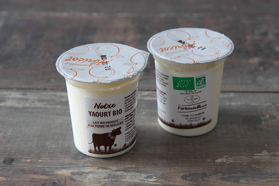 Yaourt aromatisé abricot BIO  - La Fromentellerie - La Ruche qui dit Oui ! à la maison