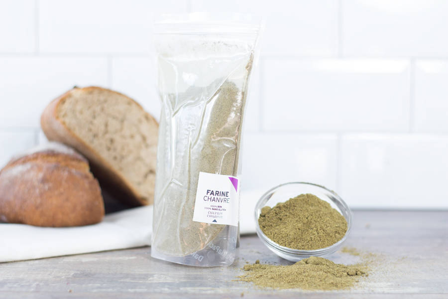 Farine de Chanvre sans gluten Hyper protéinée - Culture Chanvre - La Ruche qui dit Oui ! à la maison