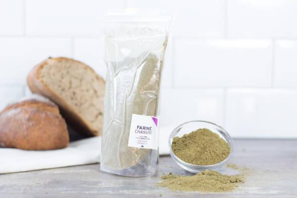 Farine de Chanvre sans gluten Hyper protéinée - Culture Chanvre