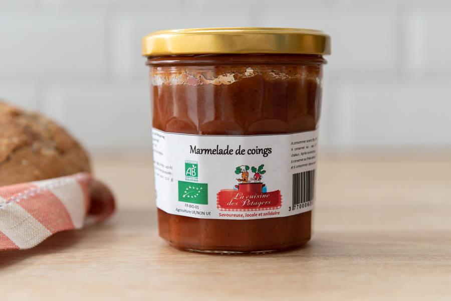Marmelade de Coings BIO - Conserverie coopérative de Marcoussis - La Ruche qui dit Oui ! à la maison