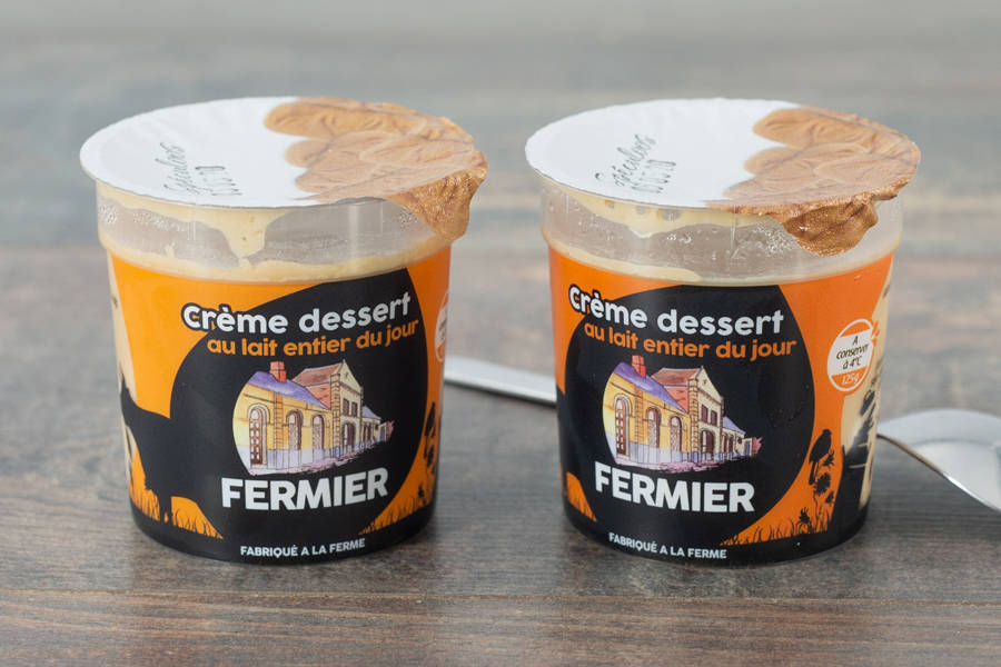 Crème dessert Spéculoos - Ferme du Sire de Créquy - La Ruche qui dit Oui ! à la maison