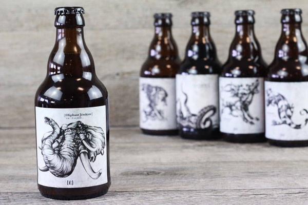 Bière Oliphant - Brasserie de l'Etre