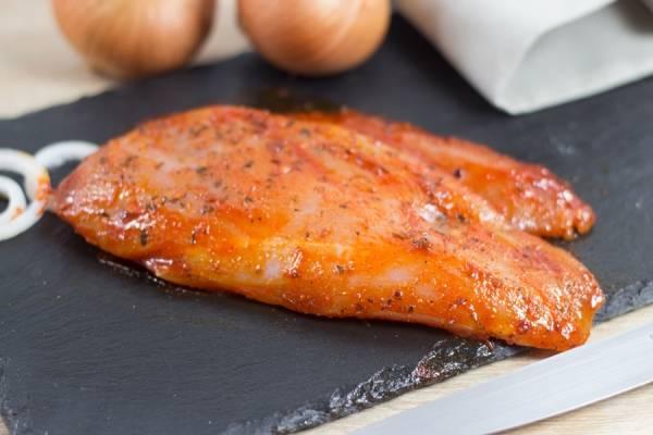 Filet de poulet mariné barbecue - Ferme de la Haie de Béranville