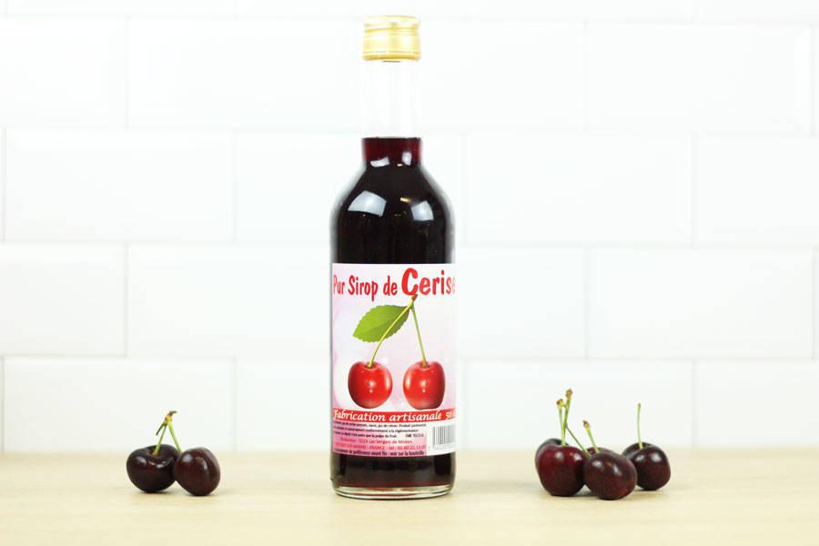 Sirop de cerise - Vergers de Molien - La Ruche qui dit Oui ! à la maison