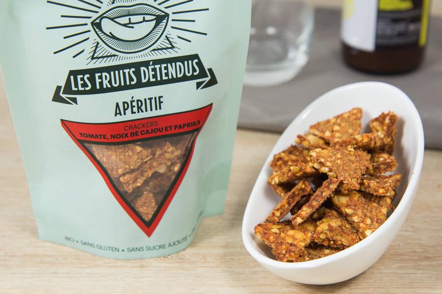 Crackers Tomates Noix de Cajou BIO - Les Fruits Détendus - La Ruche qui dit Oui ! à la maison