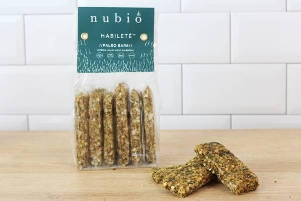 Paleo bars Habileté BIO - Nubio
