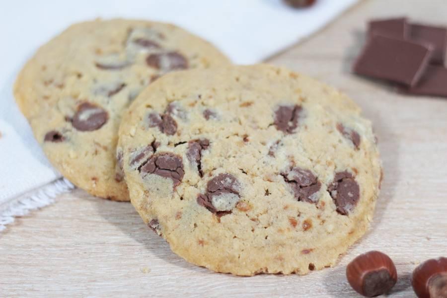 Cookie chocolat au lait noisette - La Fabrique Cookies - La Ruche qui dit Oui ! à la maison