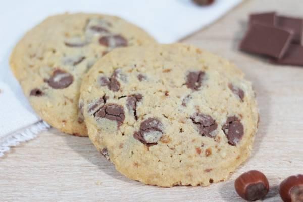 Cookie chocolat au lait noisette - La Fabrique à Cookies