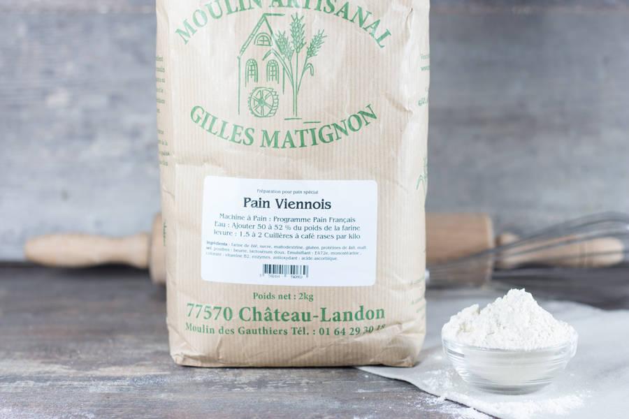 Mixe pain viennois beurre - Moulin artisanal Gilles Matignon - La Ruche qui dit Oui ! à la maison