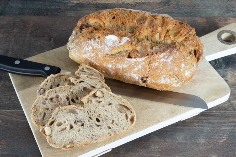Pain aux noix et noisettes BIO - Patrick Gomez, l'artisan boulanger BIO de Paris - La Ruche qui dit Oui ! à la maison