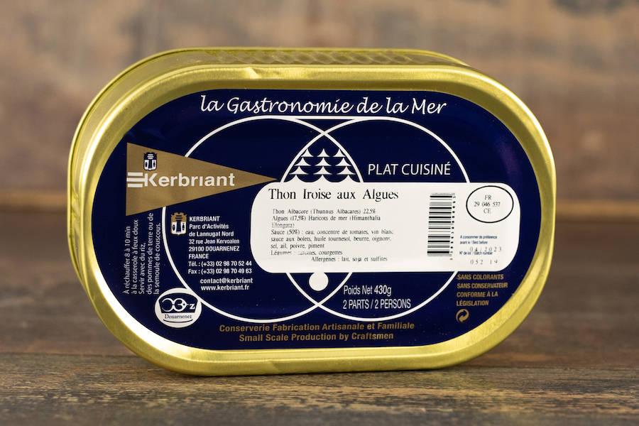 """Plat cuisiné """"Thon Iroise aux Algues"""" - Conserverie artisanale Kerbriant - La Ruche qui dit Oui ! à la maison"""