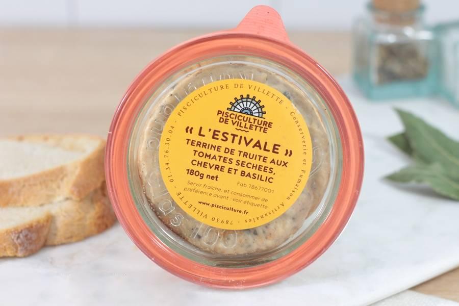 Terrine de truite l'estivale - Pisciculture de Villette - La Ruche qui dit Oui ! à la maison