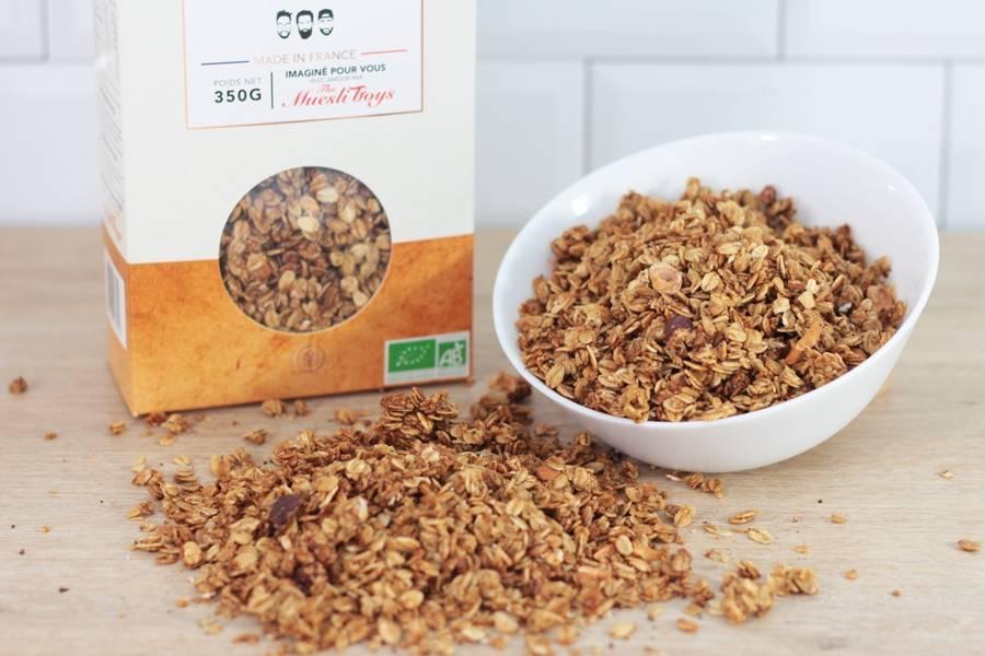 Granola nutty by nature BIO - Dear Muesli - La Ruche qui dit Oui ! à la maison
