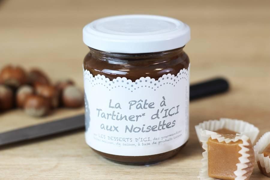 Pâte à tartiner au chocolat aux noisettes - Les Desserts d'Ici - La Ruche qui dit Oui ! à la maison
