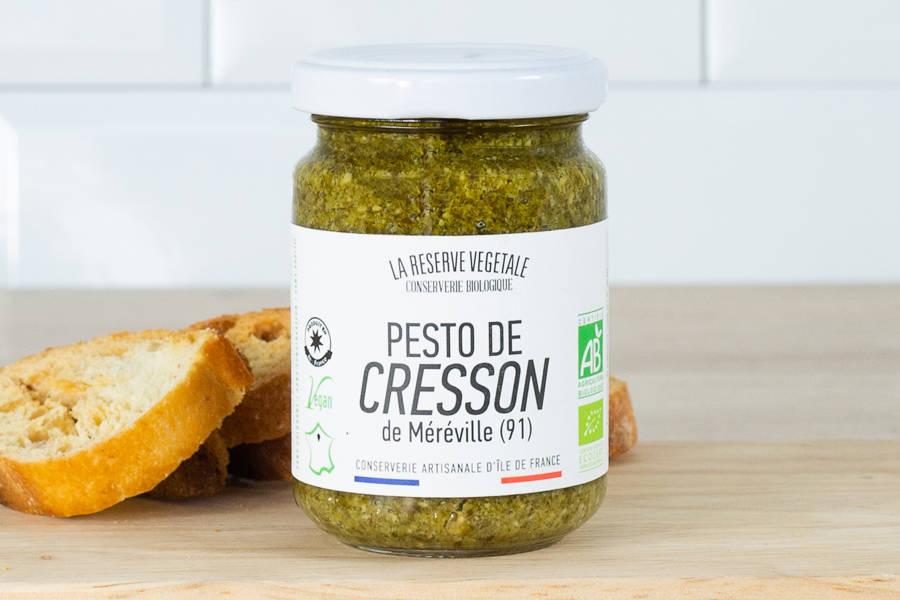 Pesto de cresson BIO - La Réserve Végétale - La Ruche qui dit Oui ! à la maison
