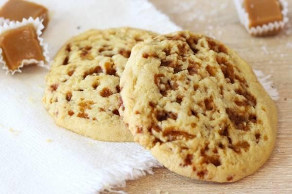 Cookie Caramel au Beurre Salé - La Fabrique à Cookies