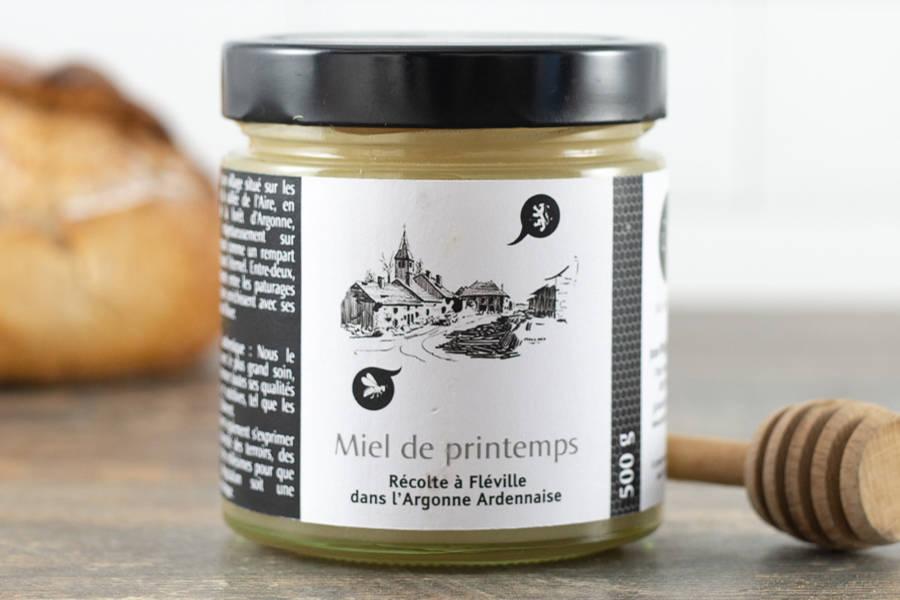 Miel de printemps d'Argonne 500 g - Miel de village - La Ruche qui dit Oui ! à la maison