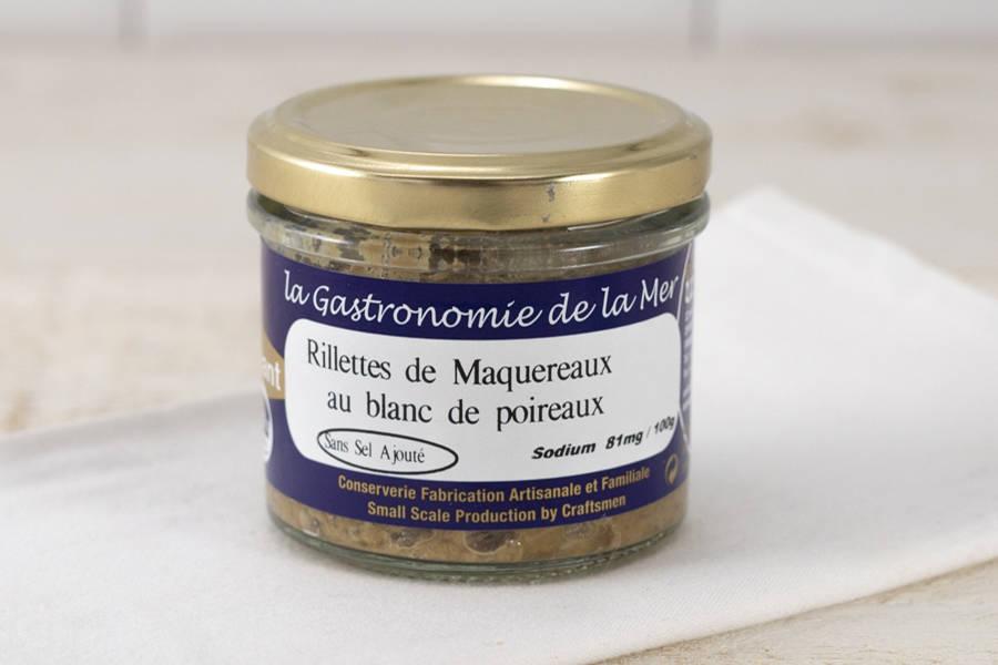 Rillettes de Maquereaux au blanc de poireau - Conserverie artisanale Kerbriant - La Ruche qui dit Oui ! à la maison