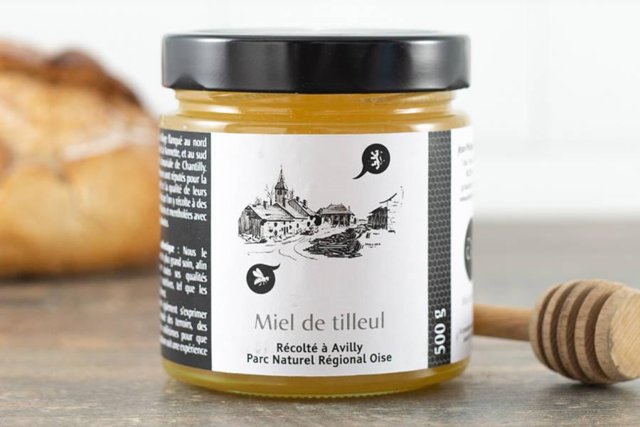 Miel de tilleul 500 g - Miel de village - La Ruche qui dit Oui ! à la maison
