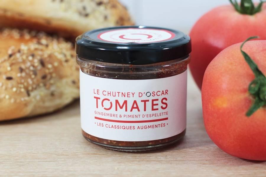 Chutney de tomates, gingembre & piment d'espelette BIO - By Oscar - La Ruche qui dit Oui ! à la maison
