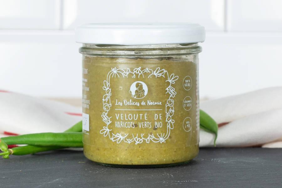Velouté de haricot vert BIO - Les Délices de Noémie - La Ruche qui dit Oui ! à la maison