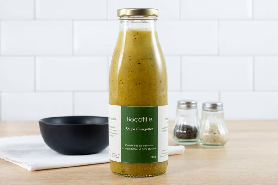 Soupe de Courgettes 50cL - Conserverie de Larnière - La Ruche qui dit Oui ! à la maison