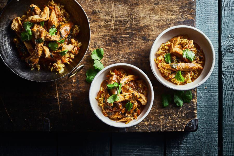 Riz au poulet fermier couleur Asie - La Ruche Mama - La Ruche qui dit Oui ! à la maison