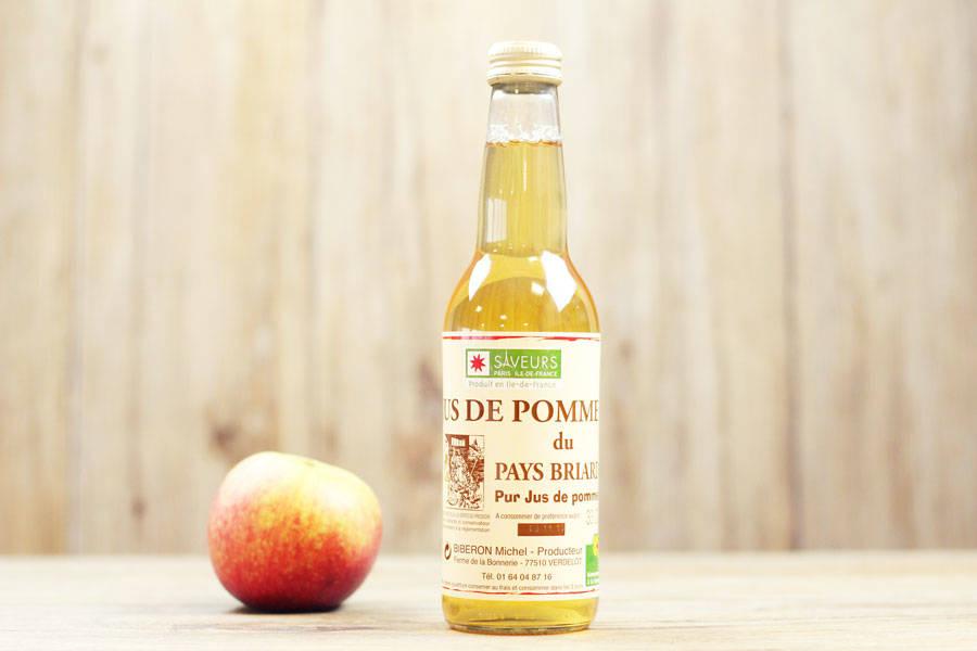 Jus de pomme 33cL - Ferme de la Bonnerie - La Ruche qui dit Oui ! à la maison