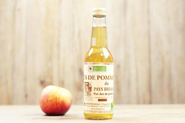 Jus de pomme 33cL - Ferme de la Bonnerie