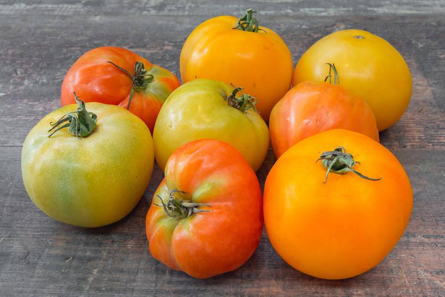Mélange de tomates anciennes - Ferme de la Marche - La Ruche qui dit Oui ! à la maison