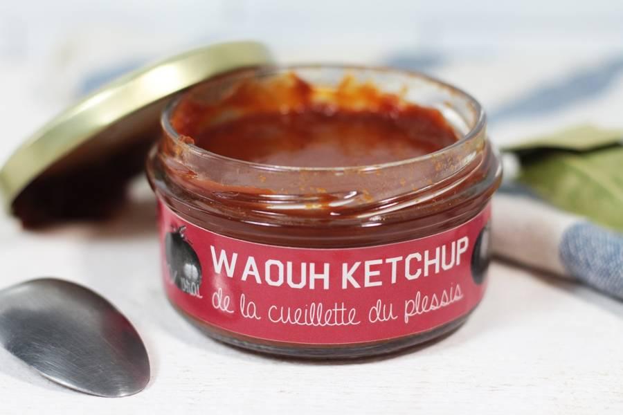 Ketchup - Cueillette du Plessis - La Ruche qui dit Oui ! à la maison