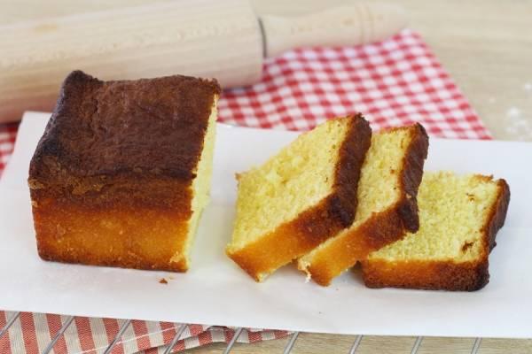 Cake au citron - Les Desserts d'Ici