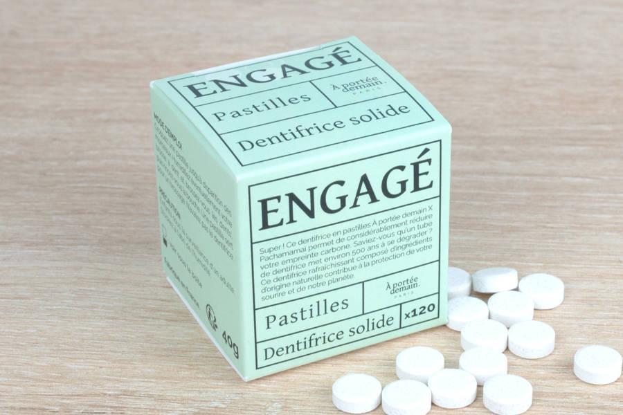 Engagé - pastilles de dentifrice - Pachamamaï - La Ruche qui dit Oui ! à la maison