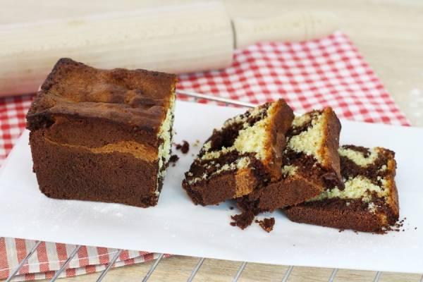 Cake marbré - Les Desserts d'Ici