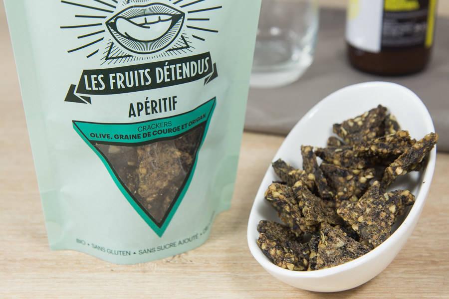 Apéro Croustillant Olives Graines de Courge BIO - Les Fruits Détendus - La Ruche qui dit Oui ! à la maison