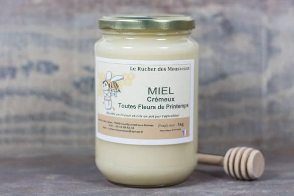 Miel crémeux - Rucher des Mousseaux