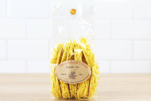 Spaghettis au safran - Ferme de la Ventue
